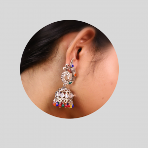 Jhumki in Multi-Color