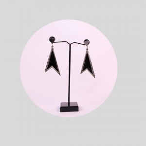 Earrings in Black Color
