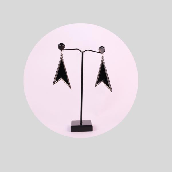 Earrings in Black Color