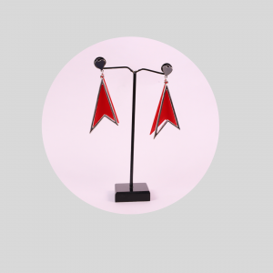 Earring in Red Color