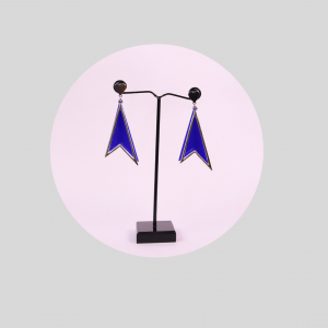 Earrings in Blue Color