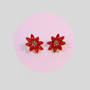 Flower Designer Earrings